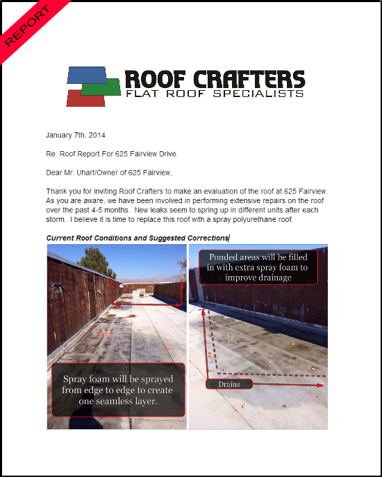 Free Roof Inspection Roof Crafters